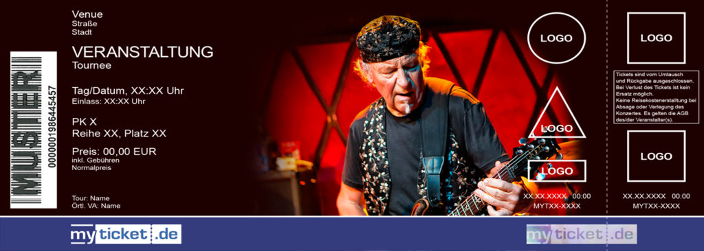 MARTIN BARRE & BAND Colorticket