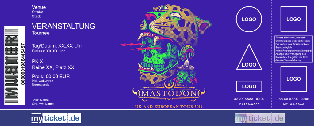 Mastodon Colorticket