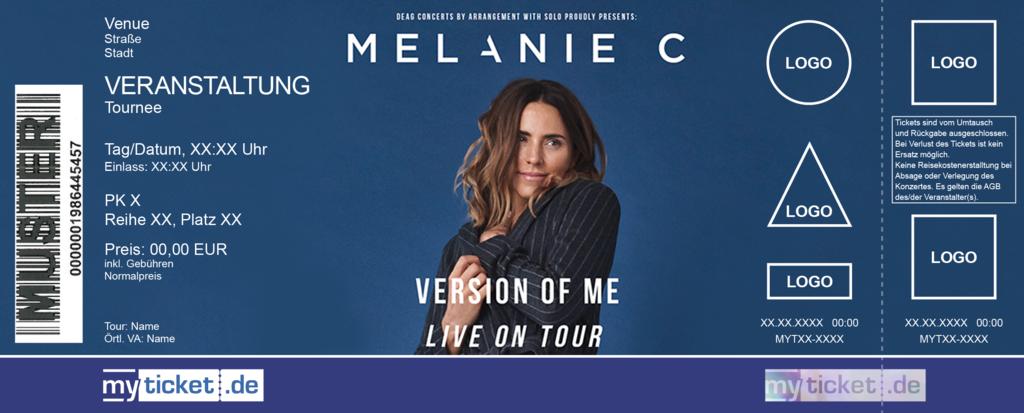 Melanie C Colorticket