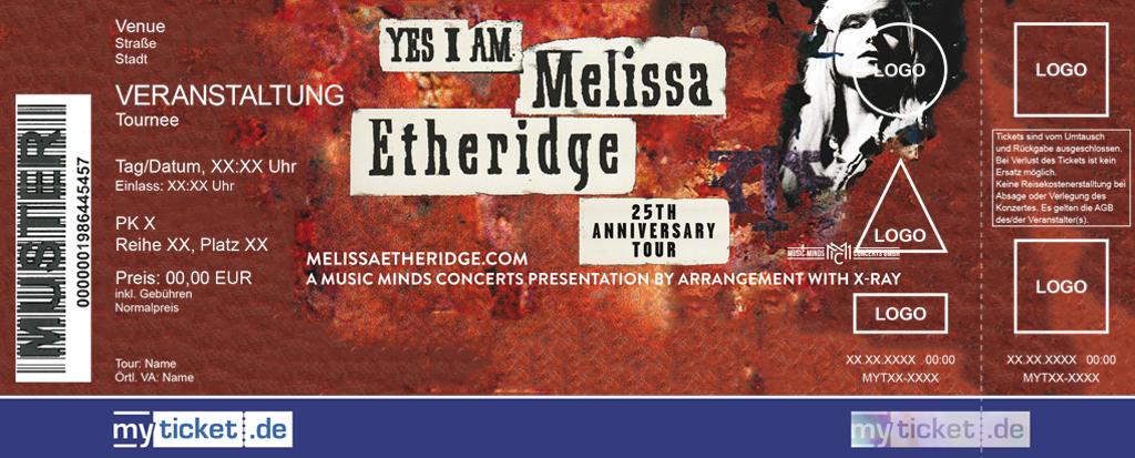 Melissa Etheridge Colorticket