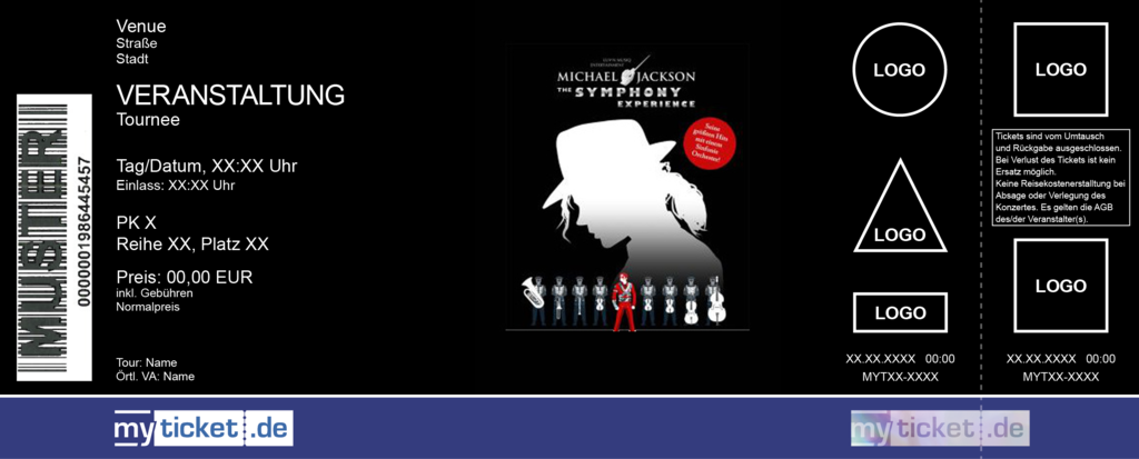 MICHAEL JACKSON – The Symphony Experience Colorticket