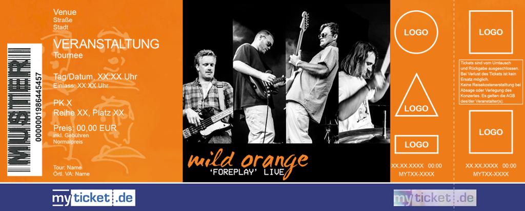 Mild Orange Colorticket
