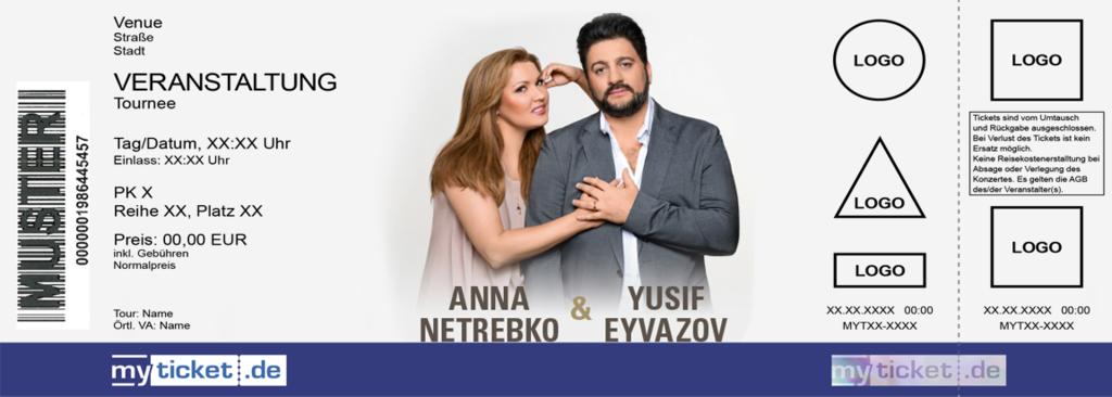 Anna Netrebko & Yusif Eyvazov Colorticket