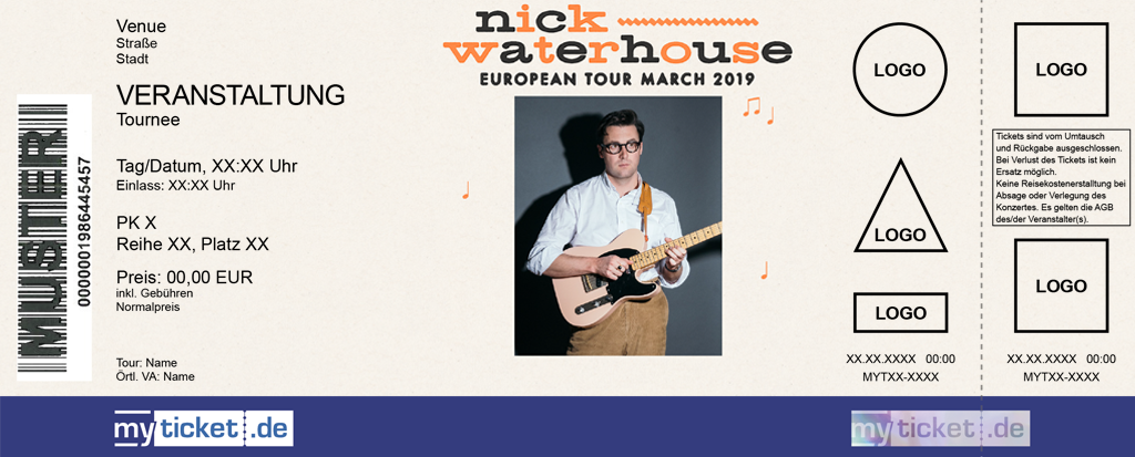 Nick Waterhouse Colorticket