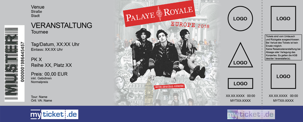 Palaye Royale Colorticket