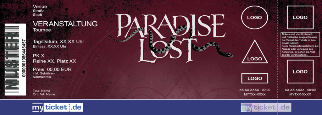 Paradise Lost Colorticket