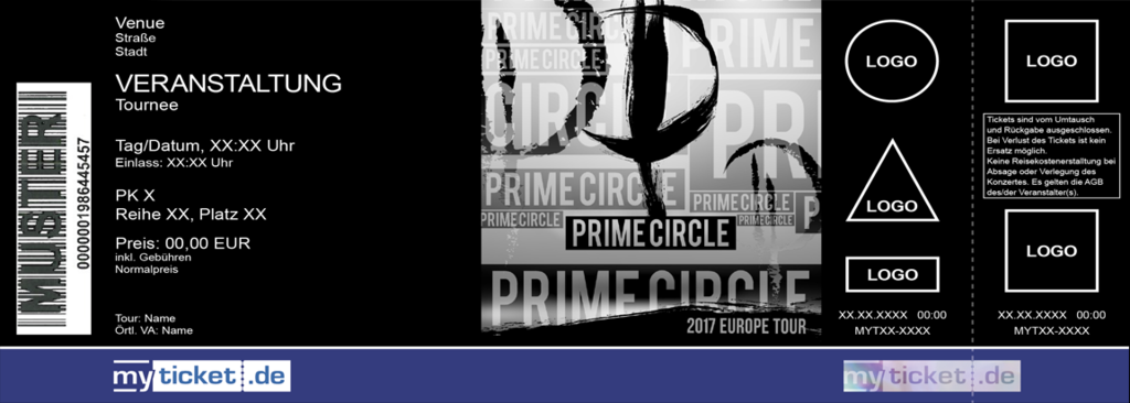 Prime Circle Colorticket