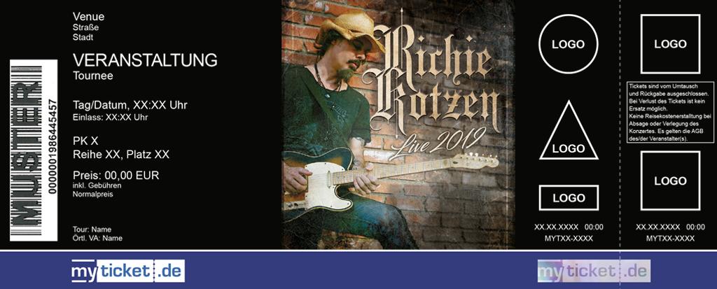 Richie Kotzen Colorticket