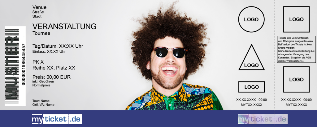 Rilan & The Bombardiers Colorticket