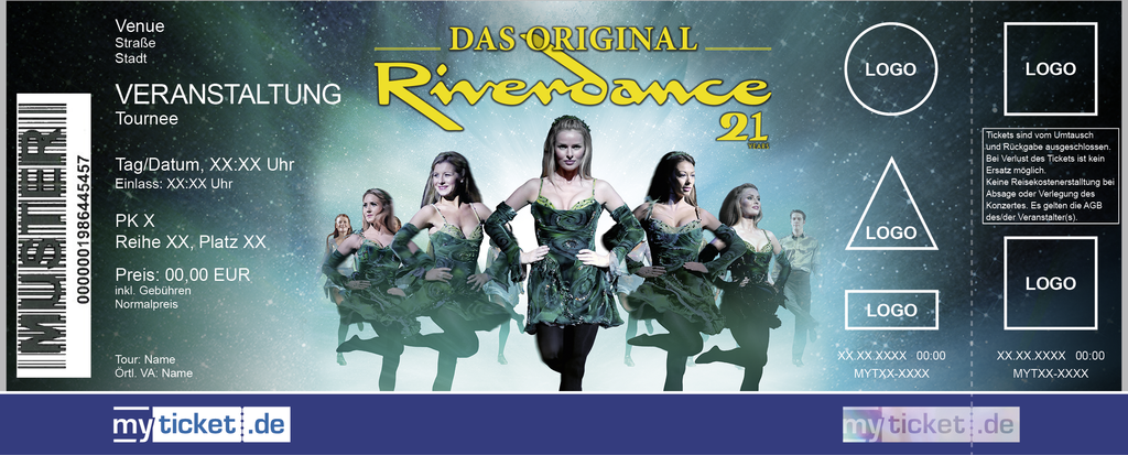 Riverdance Colorticket