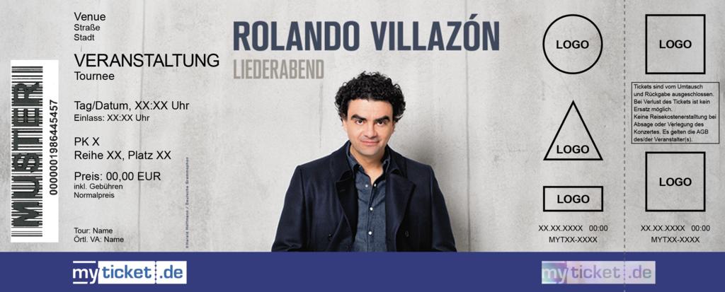 Rolando Villazón Colorticket