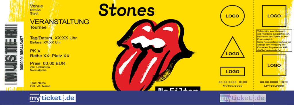 The Rolling Stones Colorticket