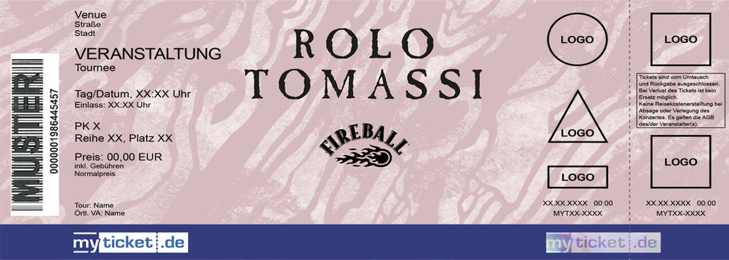 ROLO TOMASSI Colorticket