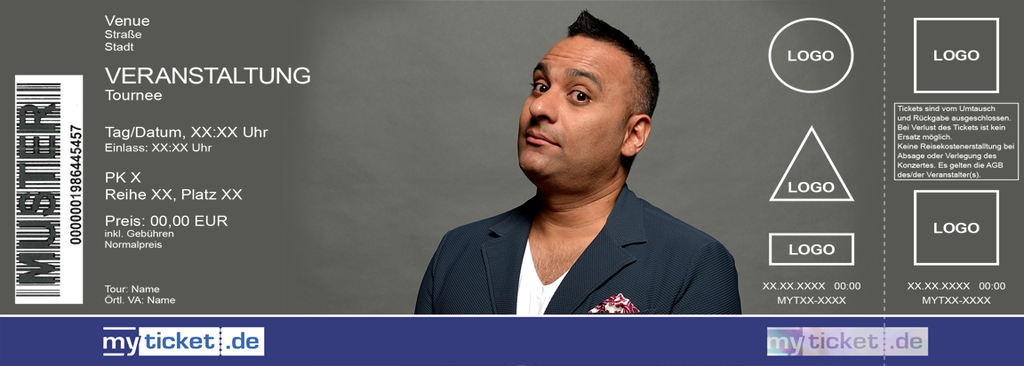 Russell Peters Colorticket