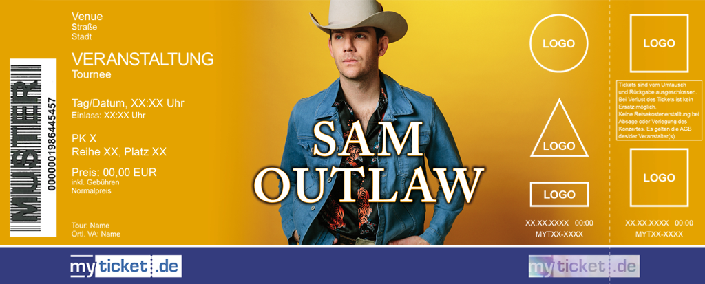 Sam Outlaw Colorticket