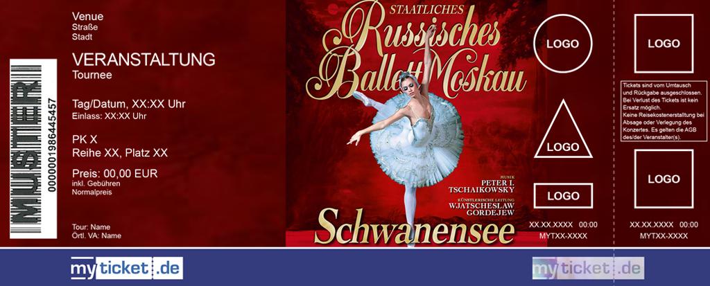 Staatliches Russisches Ballett Moskau Colorticket