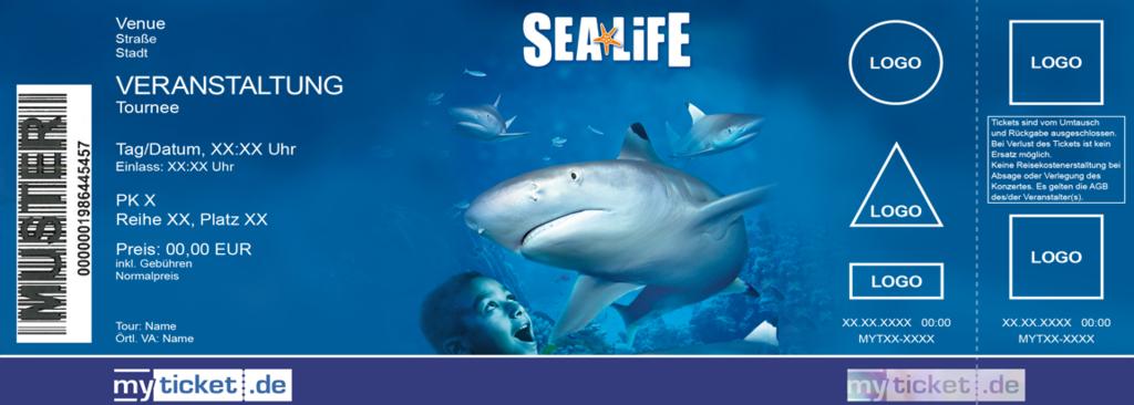 Sea Life Colorticket