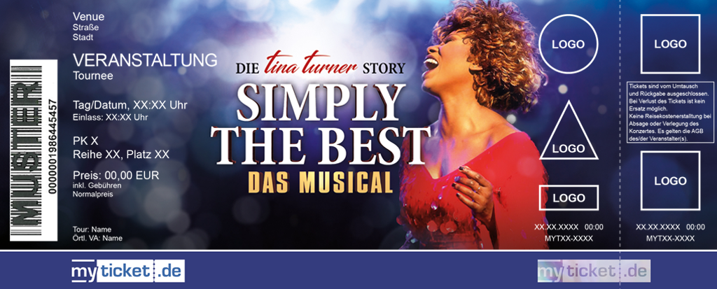 Simply the best - Das Musical Colorticket