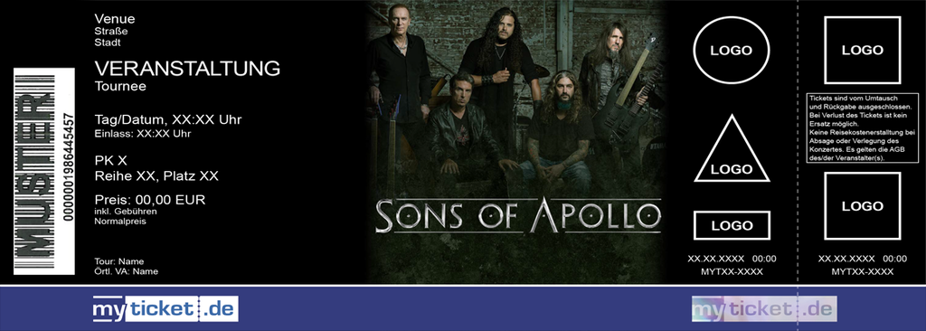 Sons of Apollo Colorticket