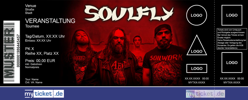 Soulfly Colorticket