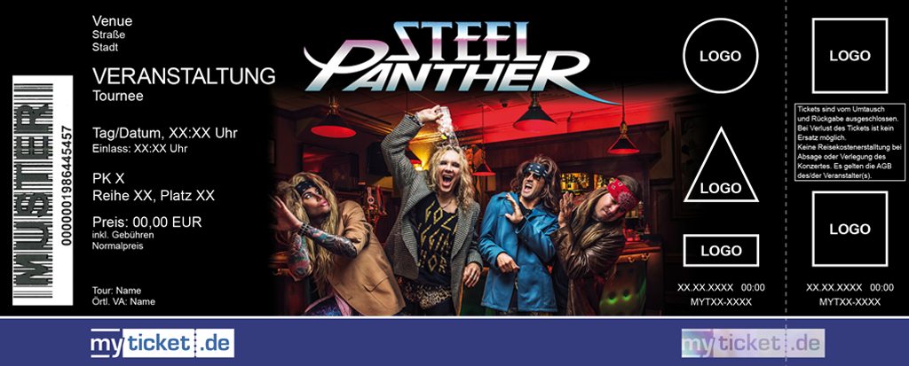 Steel Panther Colorticket