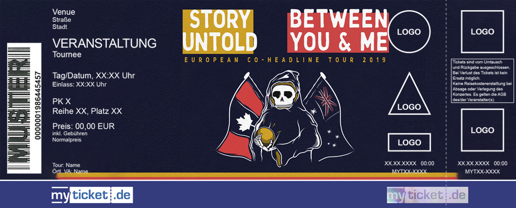 STORY UNTOLD / BETWEEN YOU & ME Colorticket