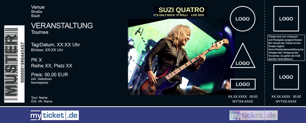 Suzi Quatro Colorticket