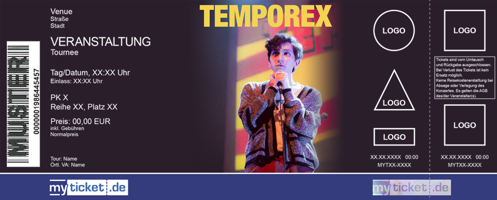 Temporex Colorticket