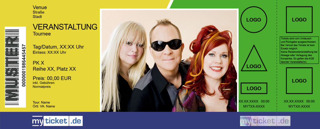 The B-52s Colorticket