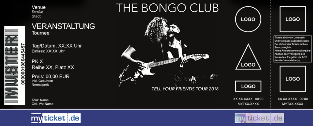The Bongo Club Colorticket