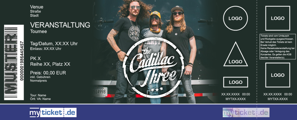 The Cadillac Three Colorticket