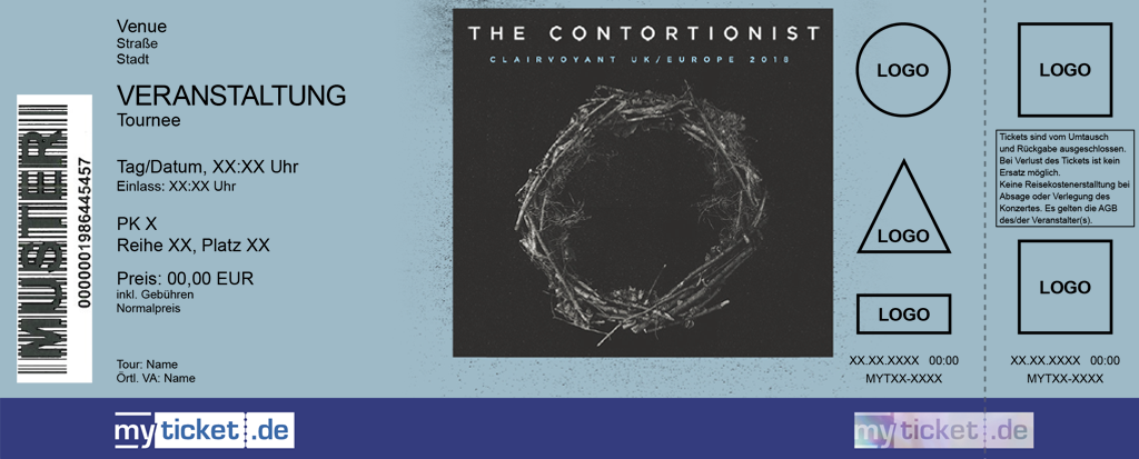 The Contortionist Colorticket
