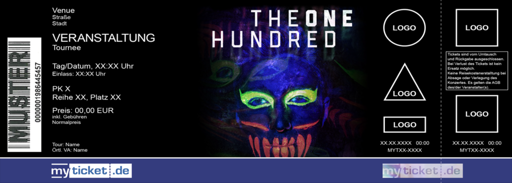 The One Hundred Colorticket