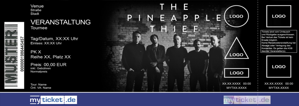 The Pineapple Thief feat. Gavin Harrison Colorticket