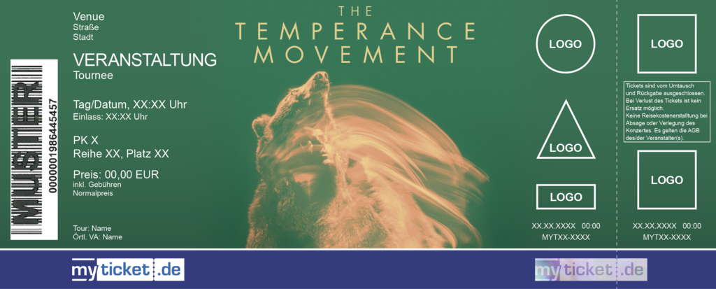 The Temperance Movement Colorticket