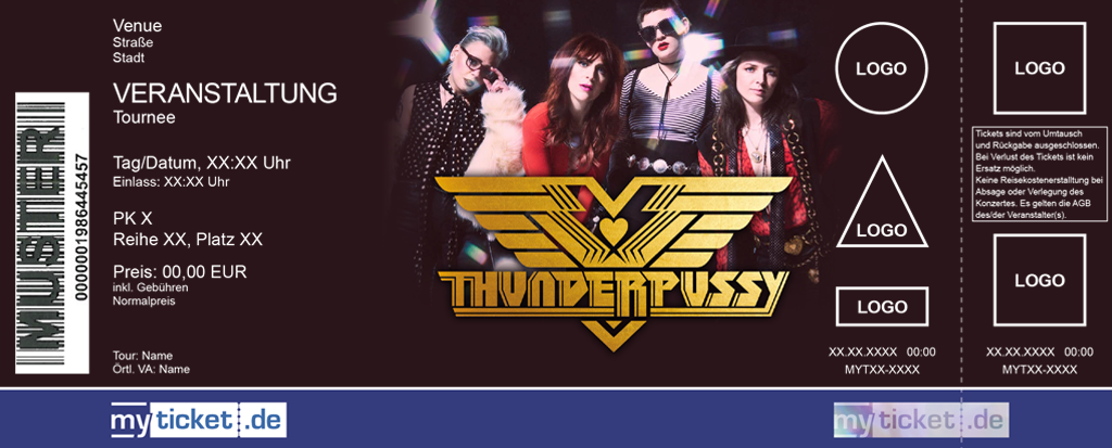 Thunderpussy Colorticket