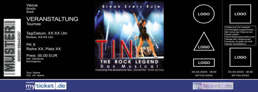 Tina - The Rock Legend Colorticket