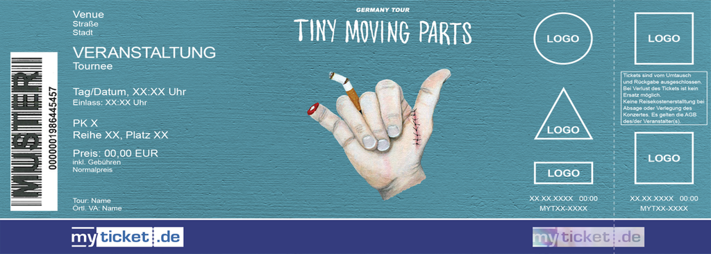 Tiny Moving Parts Colorticket
