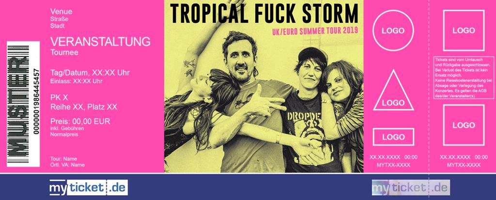 Tropical Fuck Storm Colorticket