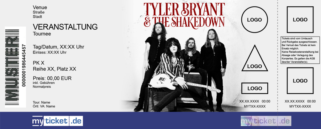 Tyler Bryant & The Shakedown Colorticket