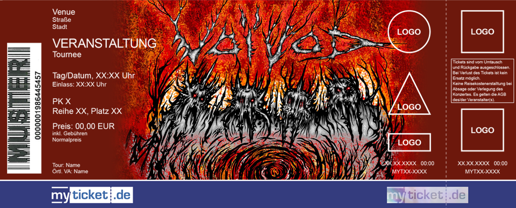 Voivod Colorticket