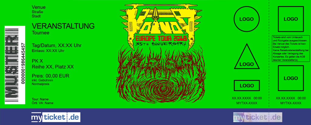 Voivod Colorticket