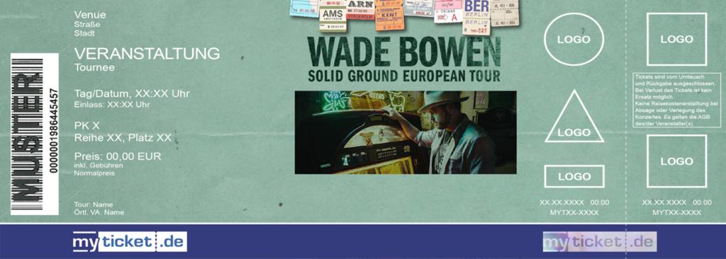 Wade Bowen Colorticket