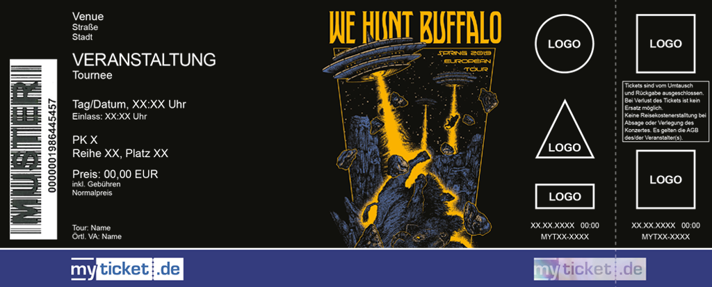 We Hunt Buffalo Colorticket