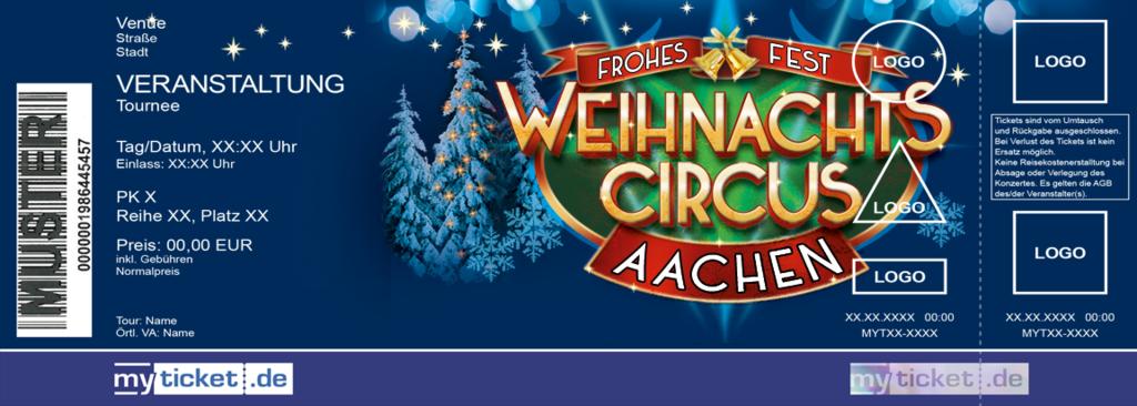 Weihnachtscircus Aachen Colorticket
