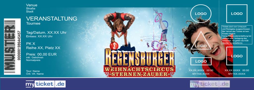 Weihnachtscircus Regensburg Colorticket