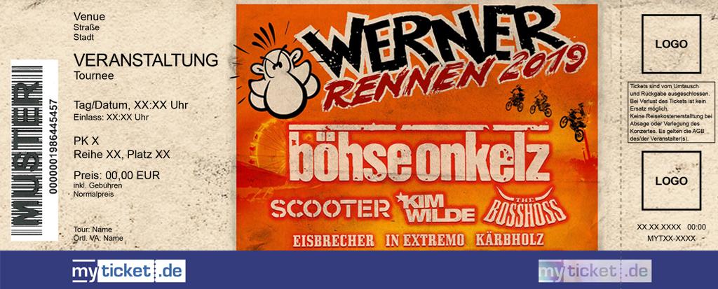 Werner Rennen 2019 Colorticket