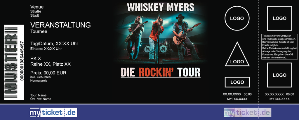 Whiskey Myers Colorticket