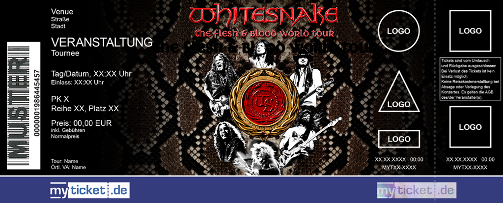 Whitesnake Colorticket