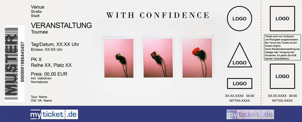 With Confidence Colorticket